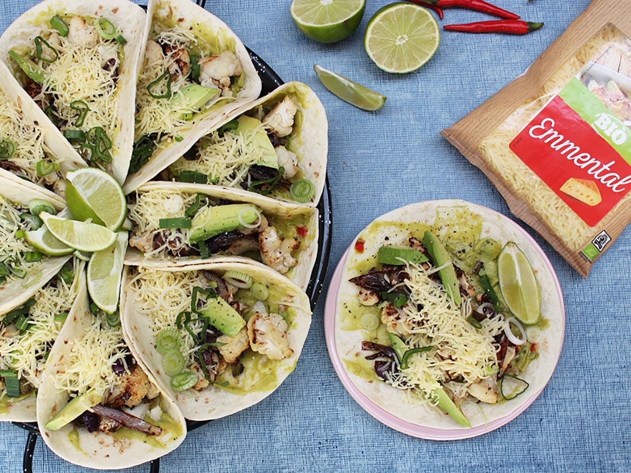Vache Bleue Recette Tacos Végétarien