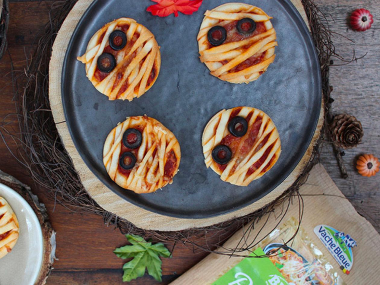 Vache Bleue_mini pizzas momie